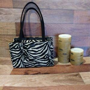 💕Kate Spade faux fur purse